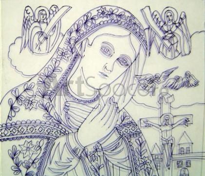 07-421x360 Desenul pe sticla, partea care se vede la icoana - DETALIU
