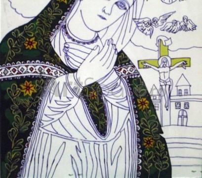 13-409x360 Pictura icoana, vedere fata - DETALIU